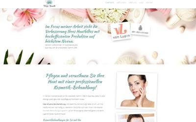 Zahnarzt homepage Design