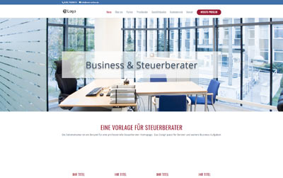 Steuerberater-webdesign-vorlage