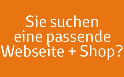 Webseiten mit Shop