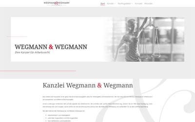 Rechtsanwalt Website